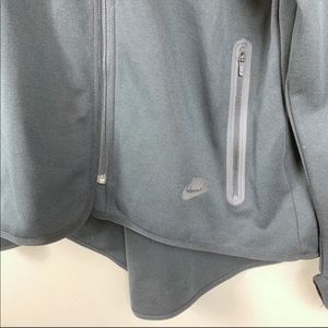 Nike Jackets & Coats - Nike Sportswear Tech Fleece Full Zip Cape Black 1X